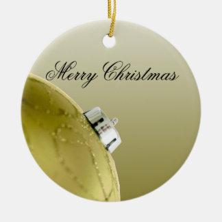 Modern Gold Ornament Macro
