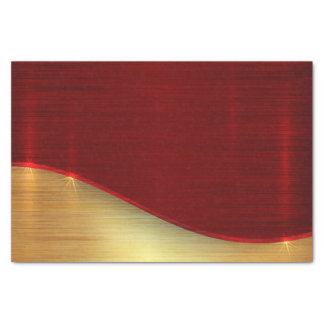 Modern,gold,red,metallic,trendy,abstract,pattern, Tissue Paper