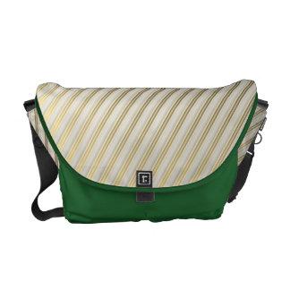modern,gold,silver,diagonal,stripes,pattern,trendy messenger bags