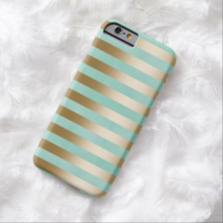 Modern Gold Stripes iPhone 6/6S Case