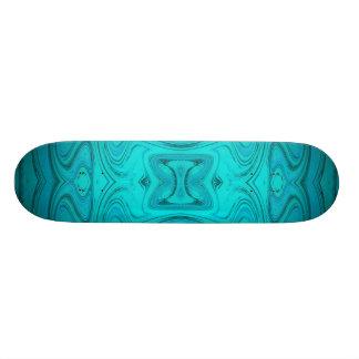 modern golden fashion pattern 19.7 cm skateboard deck
