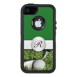 Modern Golf Theme OtterBox Defender iPhone Case