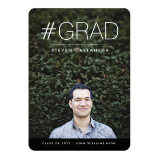 Modern Grad Card