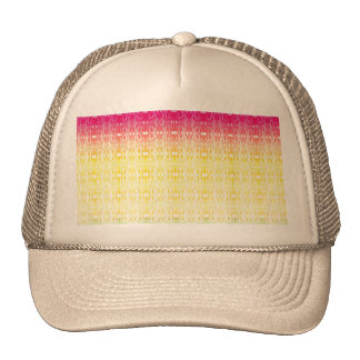 Modern gradient abstract watercolor pattern cap