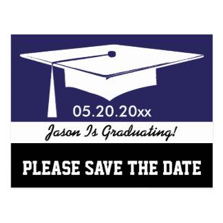 Modern Graduation Card Postcard