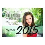 Modern Graduation Party Announcement Invite