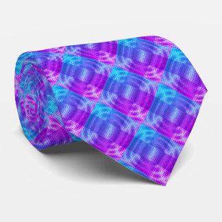 Modern Graphic Block Pattern Plaid, Custom - Tie