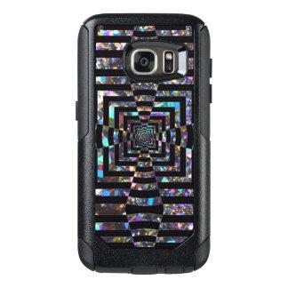 Modern Graphic Iridescent Optical Illusion Vortex, OtterBox Samsung Galaxy S7 Case