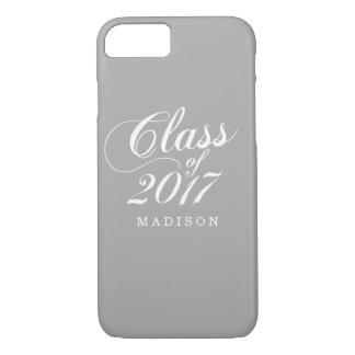 Modern Gray | Graduation iPhone 8/7 Case