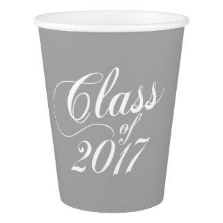 Modern Gray | Graduation Paper Cup