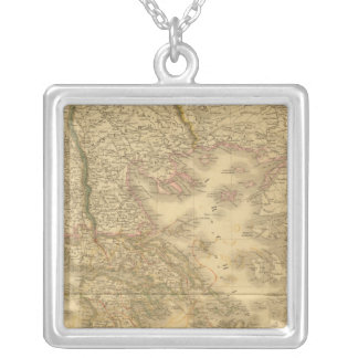 Modern Greece Silver Plated Necklace