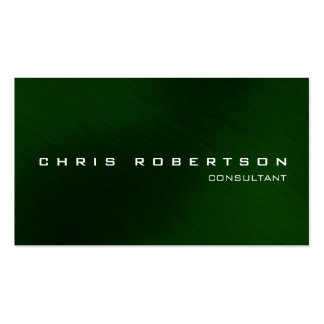 Modern Green Attractive Charming Business Card