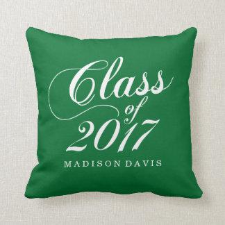 Modern Green | Graduation Cushion