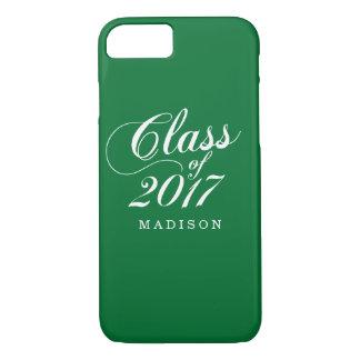 Modern Green | Graduation iPhone 8/7 Case