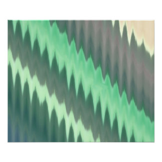 Modern Green Grey Turquoise Ikat Chevron Zigzag Photograph