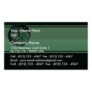 Modern Green wedding gift Business Card Template
