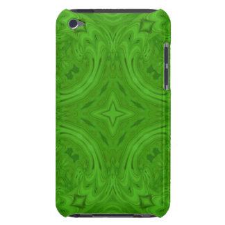 Modern Green wood Pattern iPod Case-Mate Case