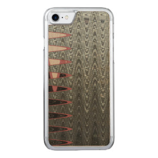 Modern Grey Abstract Carved iPhone 8/7 Case