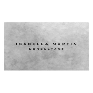 Modern Grey Stone Wall Unique Trendy Creative Pack Of Standard Business Cards