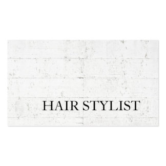 Modern Hair Stylist Wall Design Professional Pack Of Standard Business Cards