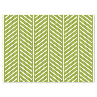 Modern Herringbone Pattern Tissue Paper