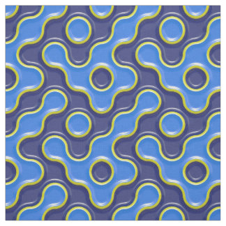 Modern high relief 3D pattern Fabric