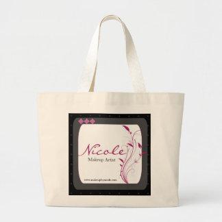Modern High Style Black Grey Pink Bag