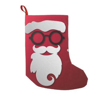Modern Hipster Santa Claus