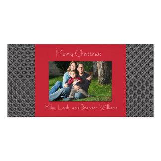 Modern Holiday Custom Photo Card