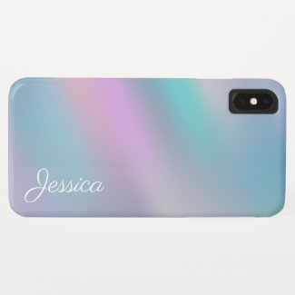 Modern Holographic rainbow design Case-Mate iPhone Case