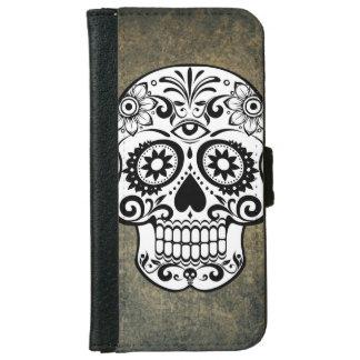 Modern Horror Skull iPhone 6 Wallet Case