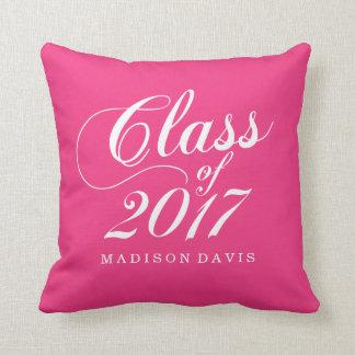 Modern Hot Pink | Graduation Cushion