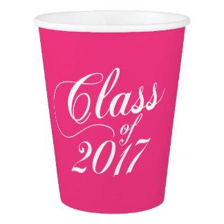 Modern Hot Pink | Graduation Paper Cup