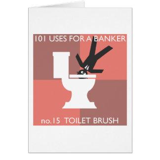 modern hygiene explained greeting card