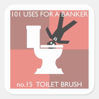 modern hygiene explained square sticker