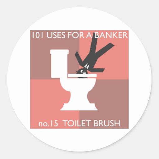 modern hygiene explained round sticker