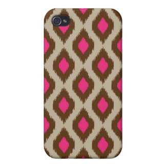 Modern ikat pattern iPhone 4/4S cases