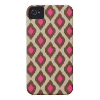 Modern ikat pattern iPhone 4 case