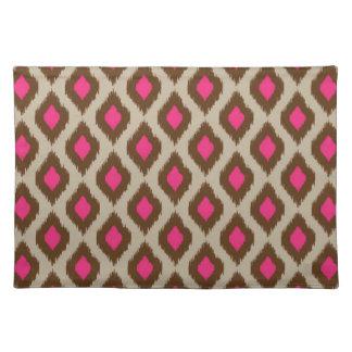 Modern ikat pattern placemat