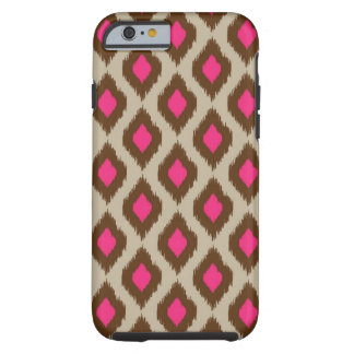 Modern ikat pattern tough iPhone 6 case