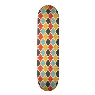 Modern ikat tribal fashion pattern 20 cm skateboard deck