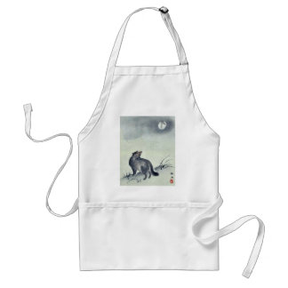 Modern illustrated sheets with pictorial envelope adult apron