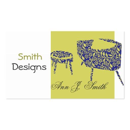 Modern Interior Design Business Card