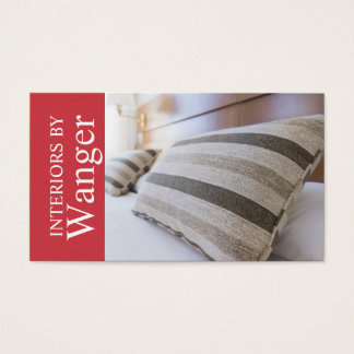 Modern Interior Designer Business Card