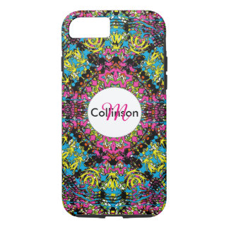 Modern Intricate Oriental Style Colorful Design iPhone 8/7 Case