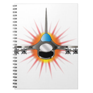 Modern Jet Fighter Notebook