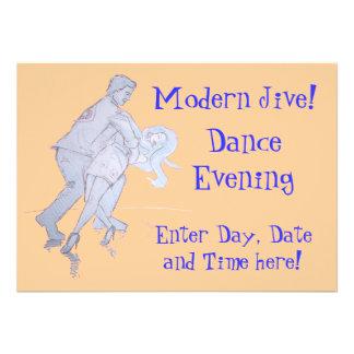 Modern Jive Ceroc Competition Dancers Custom Invites