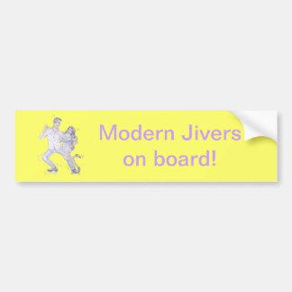 Modern Jive Ceroc Dancers Bumper Stickers