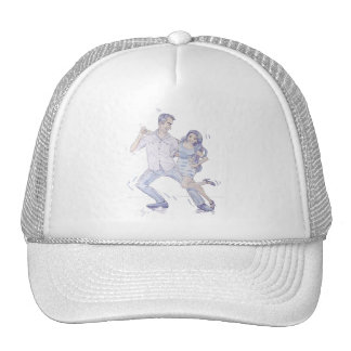 Modern Jive Ceroc Dancers Mesh Hat