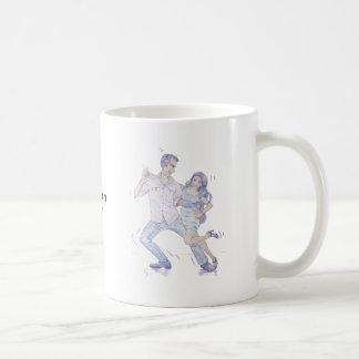 Modern Jive Ceroc Dancers Mugs